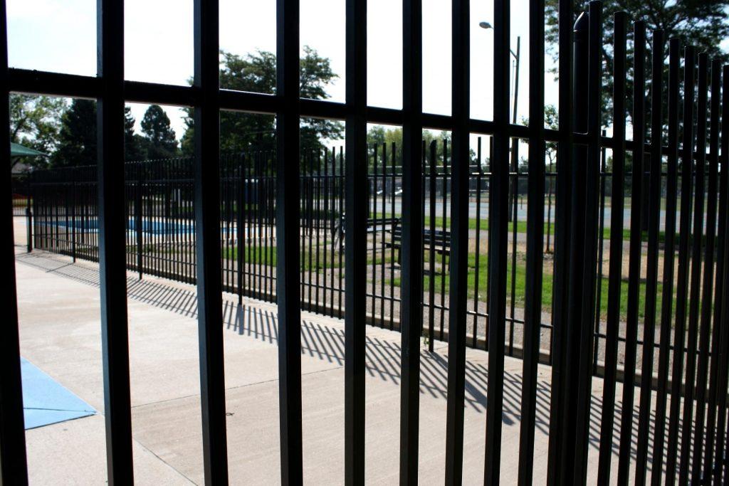 metal fencing | Steel fence