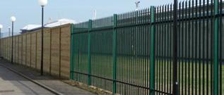 palisade fencing for school perimeter security