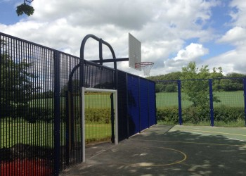 Ball Court Fencing in Northampton