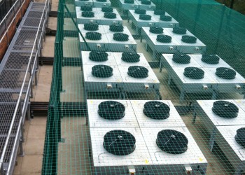 Netting to Aircon Units