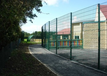 School Fencing in Carterton