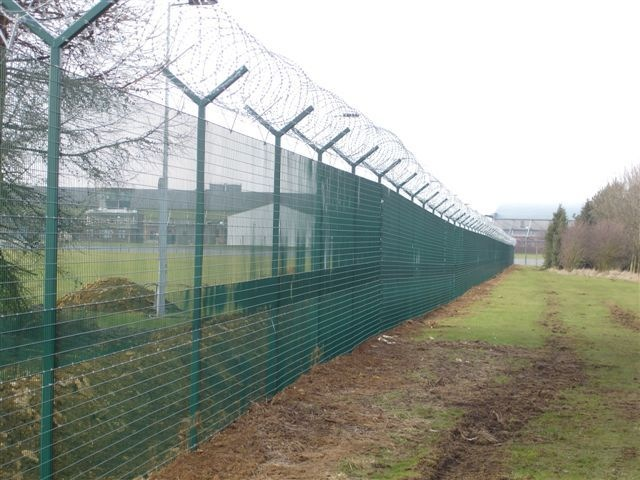 Welded Mesh security Fencing