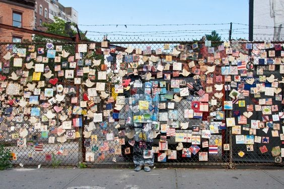 chain link fence postcards